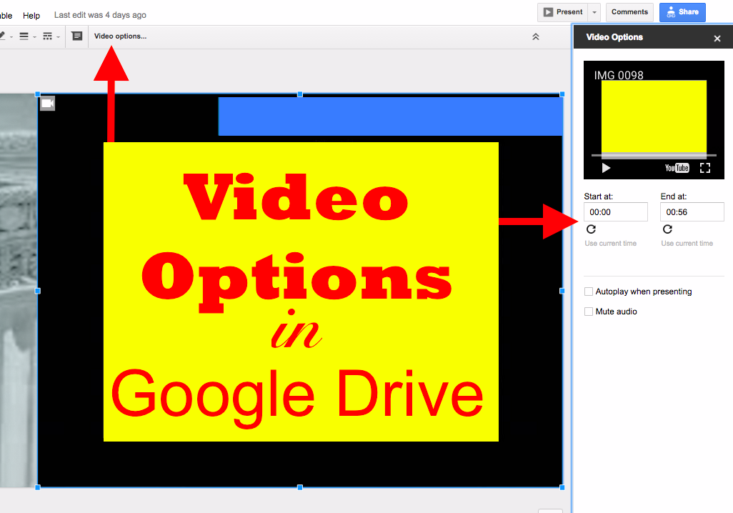 Google Slides: 3 Exciting Video Updates